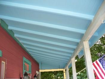 Re: Blue Porch Ceilings