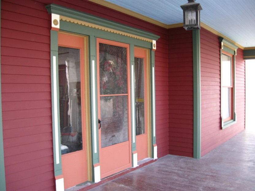 Front Entry and West Porch