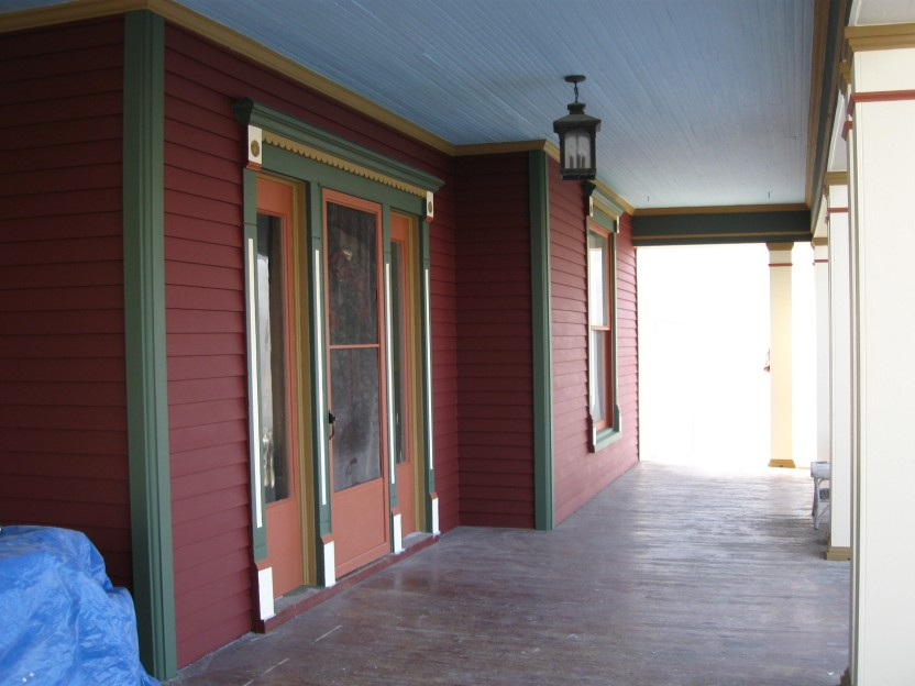 Porch Looking West